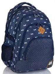 Plecak 4 Komory Hd-337 Head 3 Kokardki Profilowane Plecy