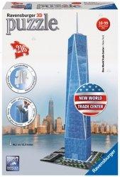 Puzzle 3d 216 el. Nowa Wieża World Trade Center Reklama