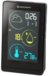 Stacja meteorologiczna Bresser Temeo Life H z kolorowym wyświetlaczem, czarna