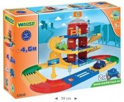 Kid Cars 3d Garaż z Trasą 4,6m 3 Poziomy Wader - 53040 #A1