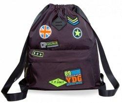 Worek Plecak Urban Badges Black Coolpack 2019