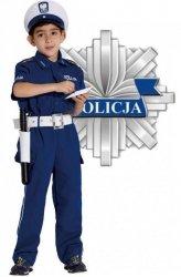 STRÓJ KARNAWAŁOWY POLICJANT DROGÓWKA 140