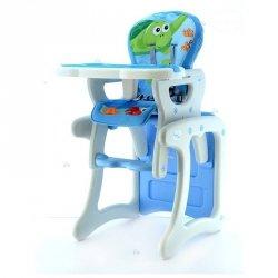 Krzesełko do Karmienia Hb-Gy01 Niebieskie #D1