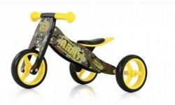 Rowerek 2w1 trójkołowy + biegowy Jake Army #B1