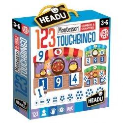 Montessori Bingo Sensoryczne od 3 do 6 lat Headu