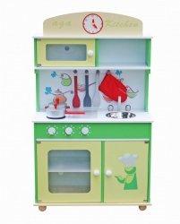 Drewniana Kuchnia Dla Dzieci Frogi + zestaw   #ZZ2