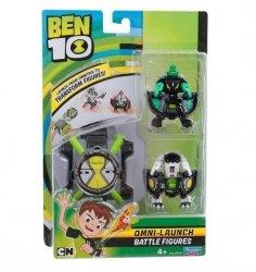 Ben 10 Omnitrix 2 Figurki Wyrzutnia Dysków Diamentogłowy