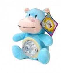 Hipopotam Pluszowy z Projektorkiem