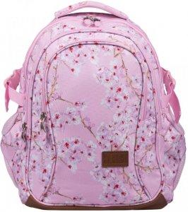 Plecak Młodzieżowy 4 Komory Kwiat Wiśni Bp-01 2019