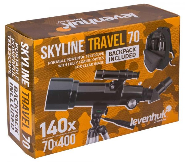 Teleskop Levenhuk Skyline Travel 70