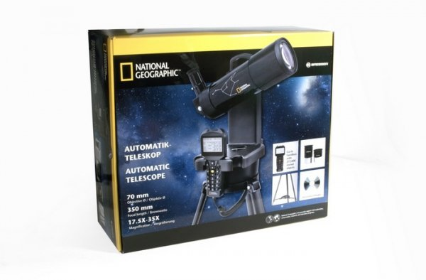 Teleskop Bresser National Geographic 70/350 GOTO