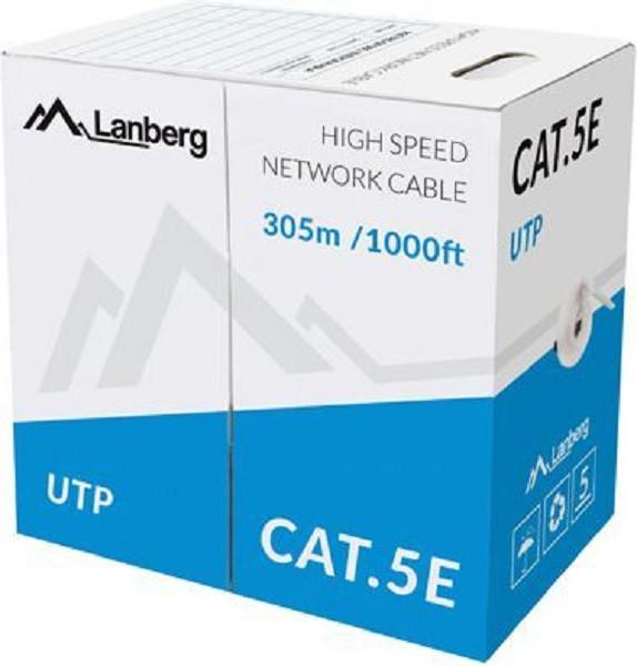 LANBERG LCU5-10CC-0305-S 305 Sieciowy