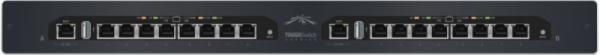 UBIQUITI TS-16-CARRIER TOUGHSWITCH 2X TS-8-PRO, 16X GIGABIT POE PORTS, 300W