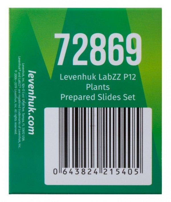 Zestaw preparatów zwierzęcych i roślinnych Levenhuk LabZZ CP24