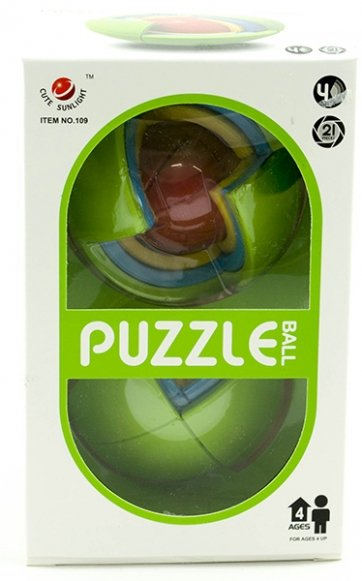 Gra Kula 3d Puzzle Łamigłówka #E1