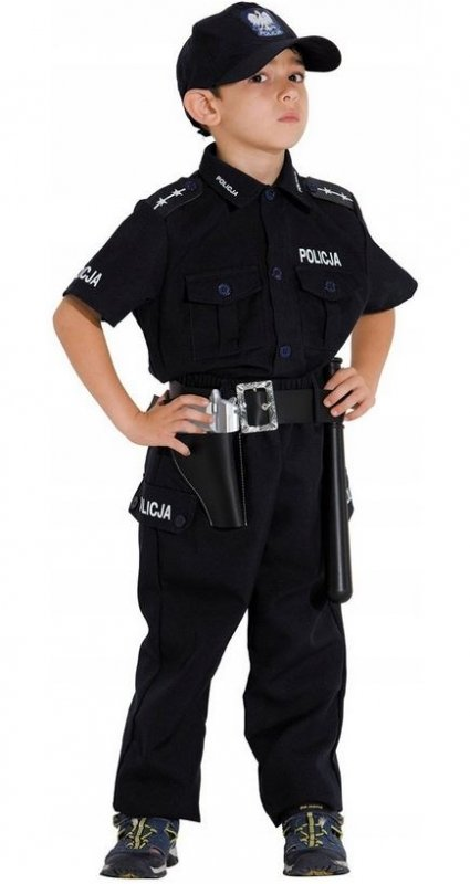 STRÓJ KARNAWAŁOWY POLSKI POLICJANT 104