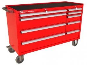 Wózek warsztatowy MEGA z 9 szufladami PM-218-22