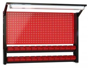 N-4-08-04 Tablica na narzędzia 920mm X 1350mm X 135mm z oświetleniem