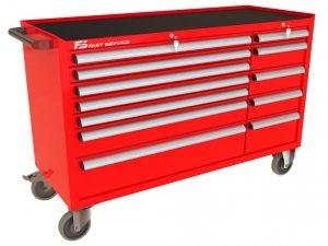 Wózek narzędziowy MEGA z 12 szufladami PM-219-21