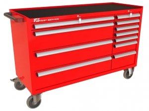 Wózek warsztatowy MEGA z 11 szufladami PM-218-19