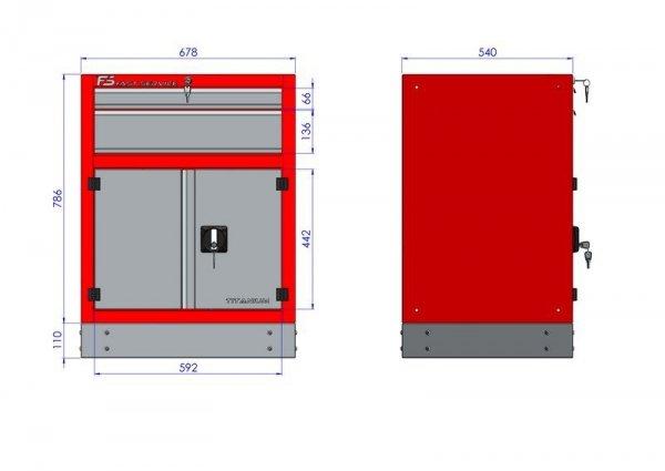 Stół warsztatowy – T-10-31-10-01