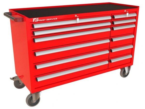Wózek narzędziowy MEGA z 12 szufladami PM-214-14