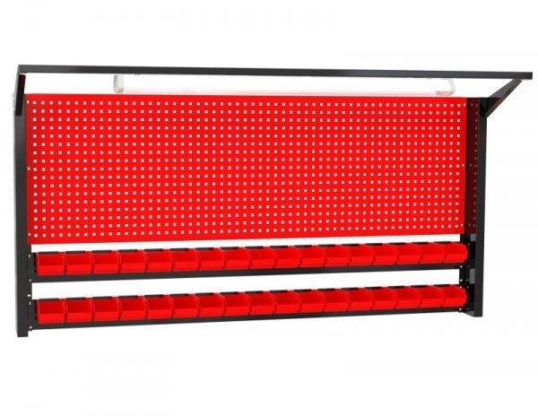 N-4-09-04 Tablica na narzędzia 920mm x 1920mm x 135mm z oświetleniem