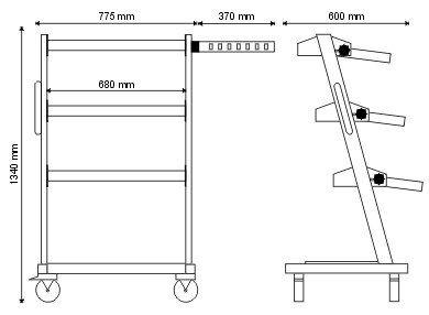 Wózek diagnostyczny P-2-06-02