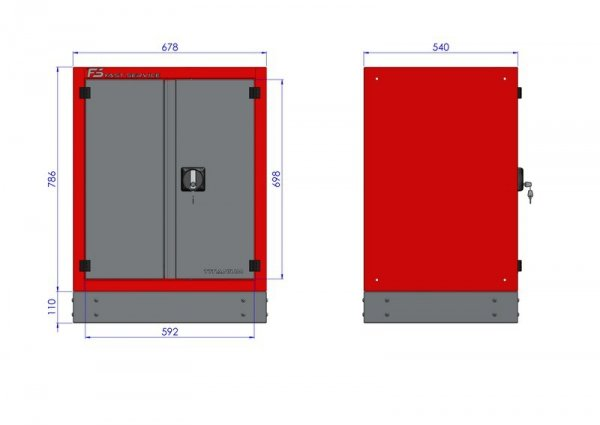 Stół warsztatowy – T-40-17-40-01