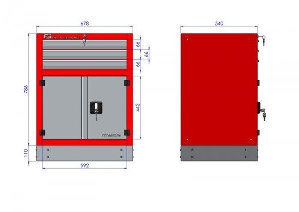 Stół warsztatowy – T-16-30-10-01
