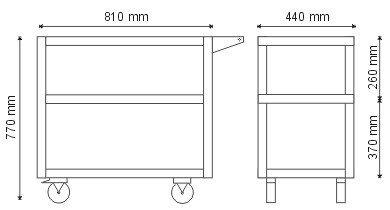 Wózek narzędziowy P-2-01-02