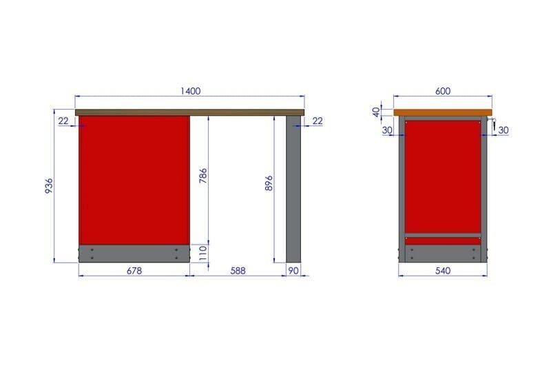 Stół warsztatowy – TK-16-01