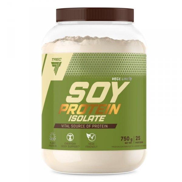 Białko Sojowe  Trec Soy Protein Isolate 750g Wanilia
