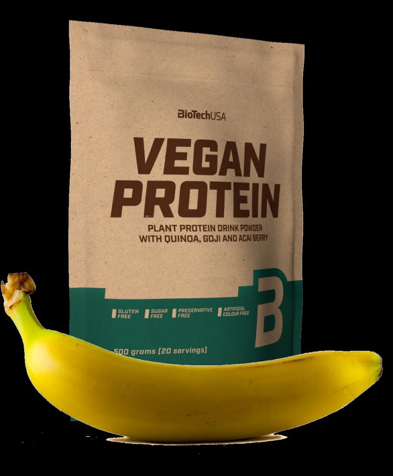 BioTech Vegan Protein 500g  banan