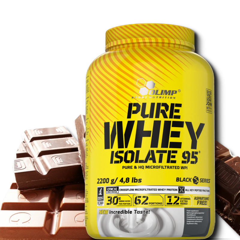 Pure Isolate 95 2200 g smak czekoladowy