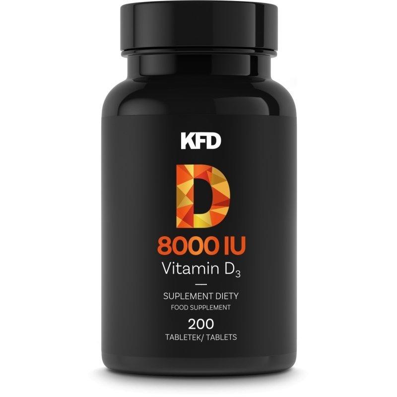 KFD Vitamin D3 8000 IU 200 tabletek