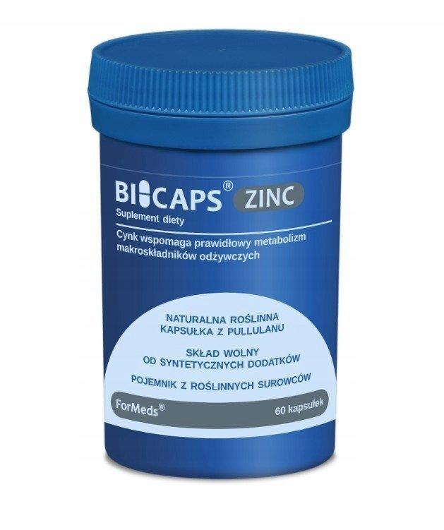 ForMeds BICAPS ZINC 60 kaps cytrynian cynku +miedź