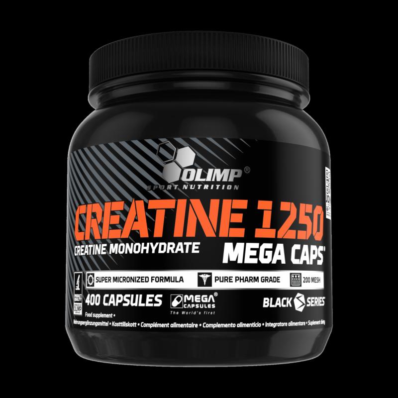 Creatine 1250 Olimp Monohydrate 400 kaps MEGA CAPS