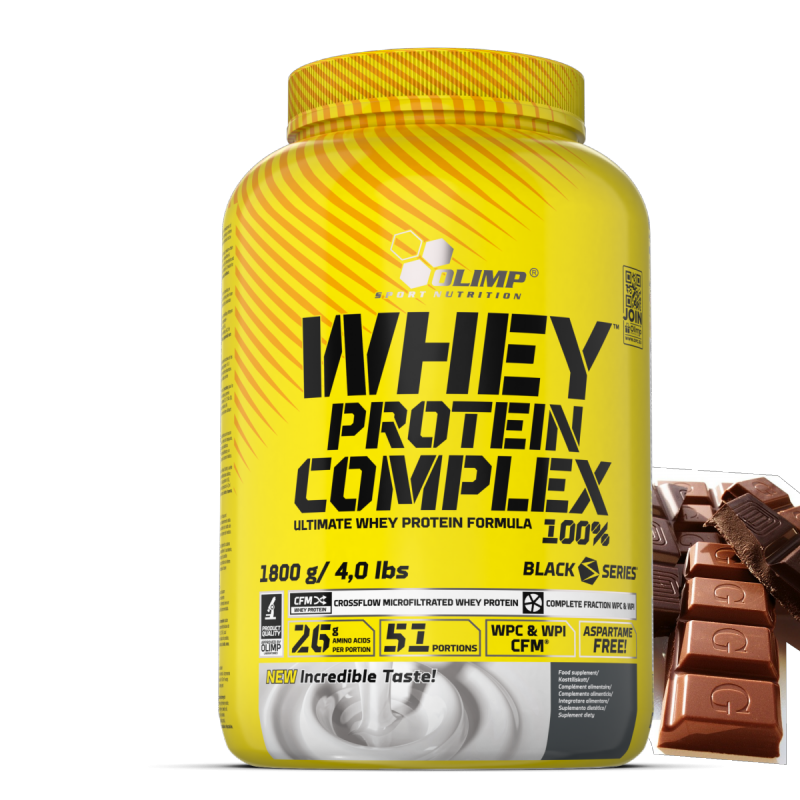 Olimp Whey Protein Complex 1800g Dobule Chocolate