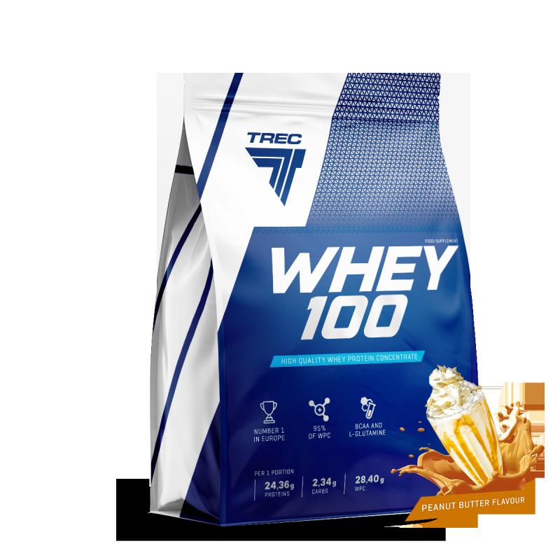Trec Whey 100 białko Peanut Butter