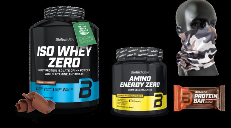 BioTech Iso Whey Zero 2270g + Amino Energy Zero With Electrolytes 360g