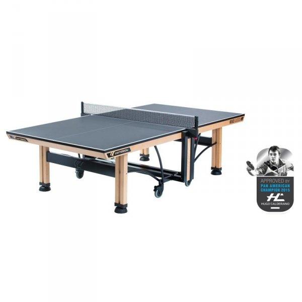 Stół tenisowy COMPETITION 850 WOOD ITTF Szary