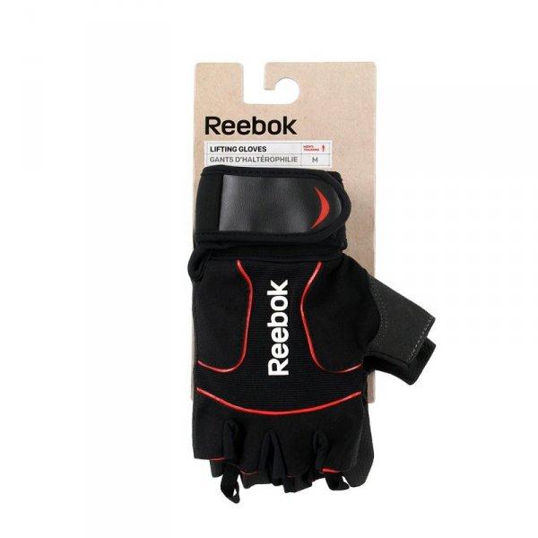 REEBOK RĘKAWICZKI TRENINGOWE LIFTING RAGB-11234BK L