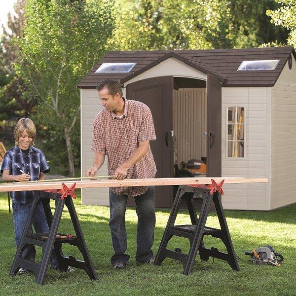 Szopa ogrodowa 244x305 cm 60005