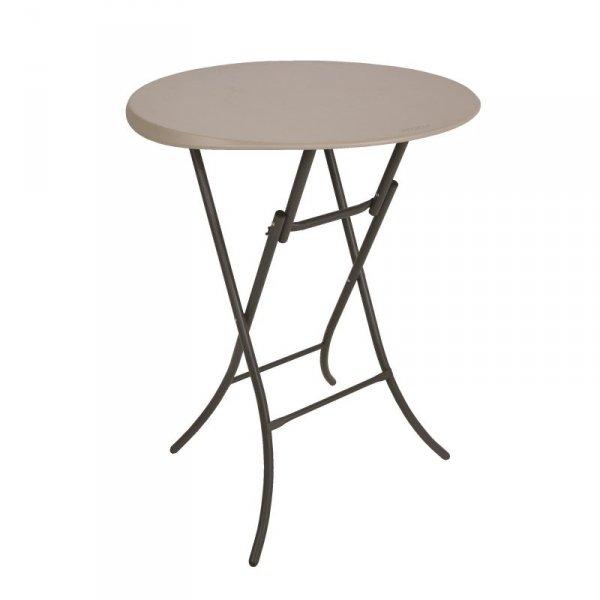 Okrągły stół Bistro 83.8 cm (migdałowy) 80362