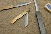 Nóż kieszonkowy Aogami Higonokami 40 mm