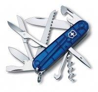 Victorinox Huntsman 1.3713.T2 niebieski przezroczysty Wysyłka Kurierem 0 zł