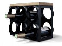 Stojak do wina i szampana - na 6 butelek Nuance
