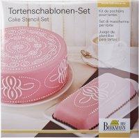 Szablony do dekoracji tortów PATTERN - 2 szt. Birkmann