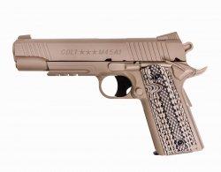 Pistolet GNB Colt M45A1 - tan (180313)